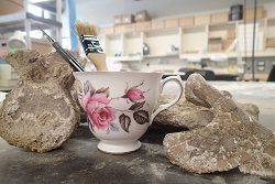 tea and fossils