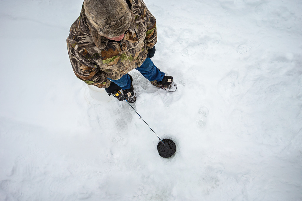 blackstrap ice fishing