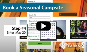 Book a Seasonal Campsite